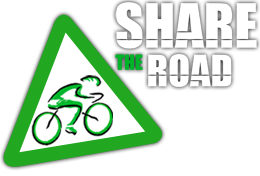 share the road logo